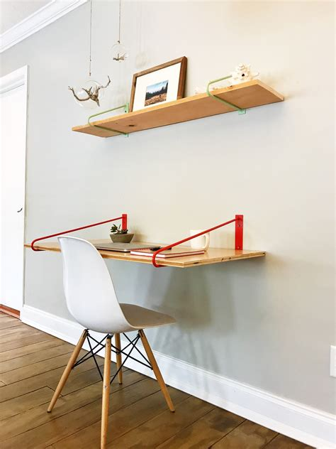 Diy Bracket For Floating Desk