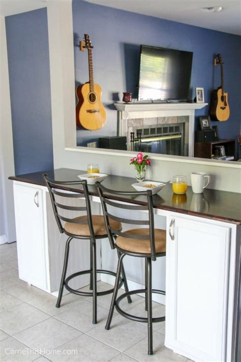 Diy Breakfast Bar Materials