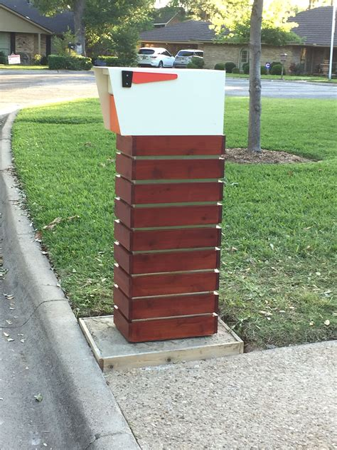 Diy Brick Mailbox Projects