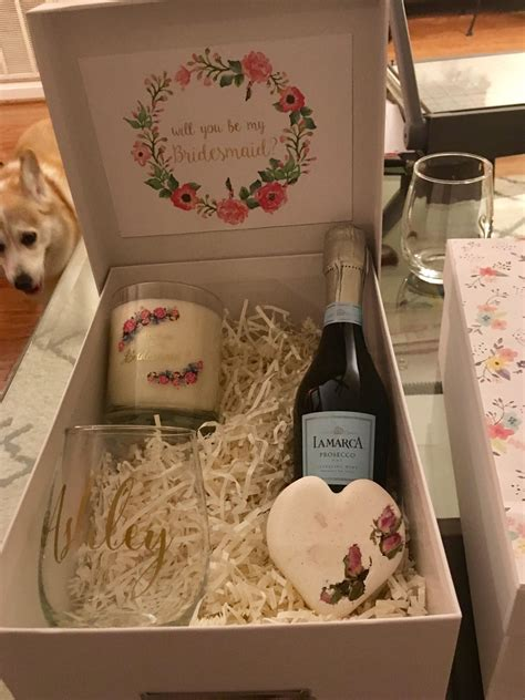 Diy Bridesmaids Proposal Box