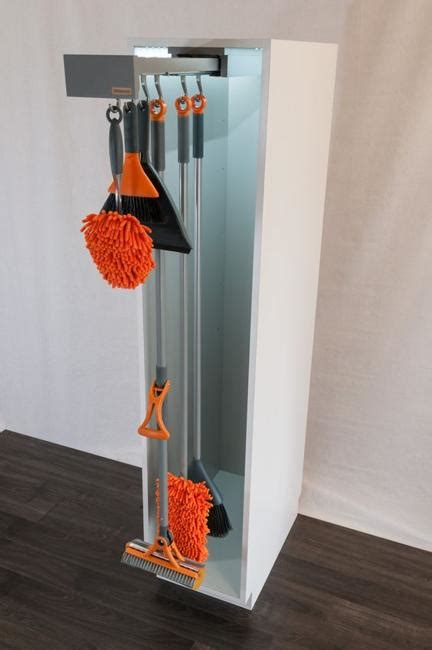 Diy Broom And Mop Storage Solutions