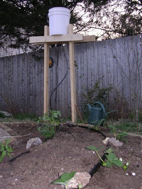 Diy Bucket Watering System