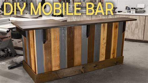 Diy Build A Bar In A Mobile Home