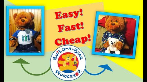 Diy Build A Bear Accessories Youtube