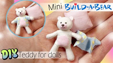 Diy Build A Bear For Dolls