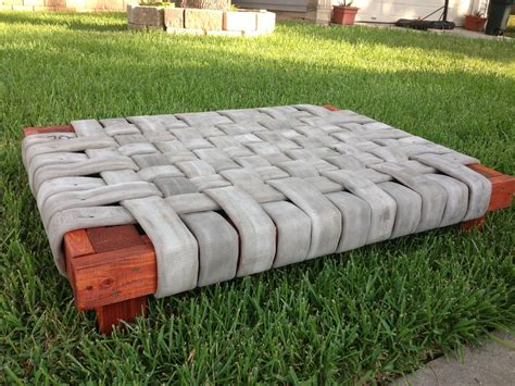 Diy Build Dog Bed With Fire Hose