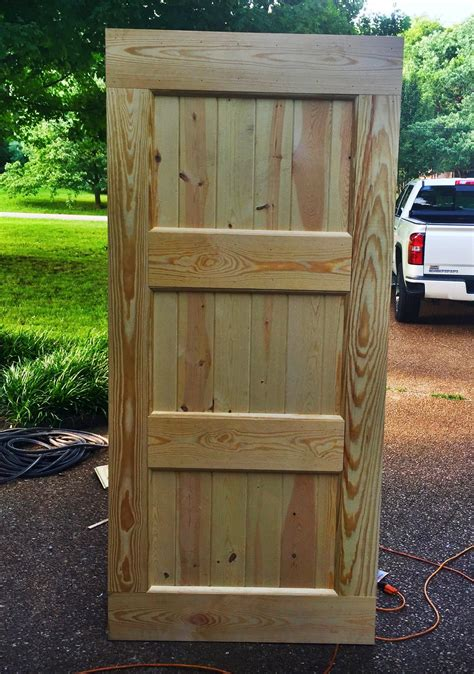 Diy Build Exterior Door
