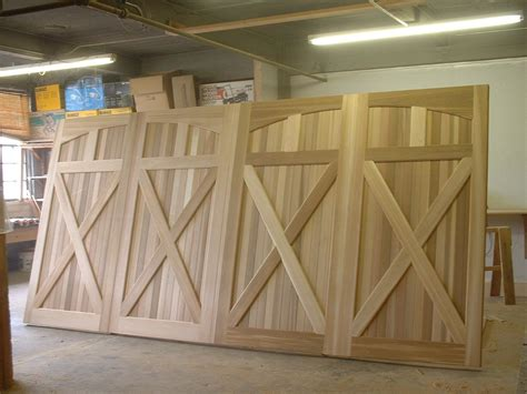 Diy Build Wooden Garage Door
