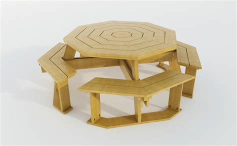 Diy Build Your Own Octagon Table