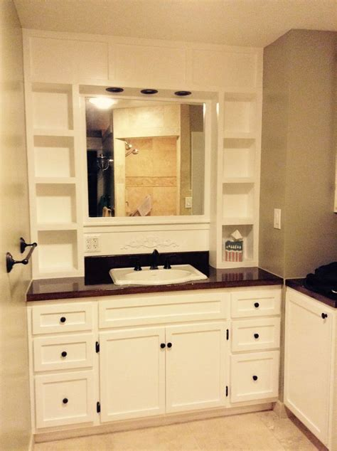 Diy Built In Bathroom Vanity