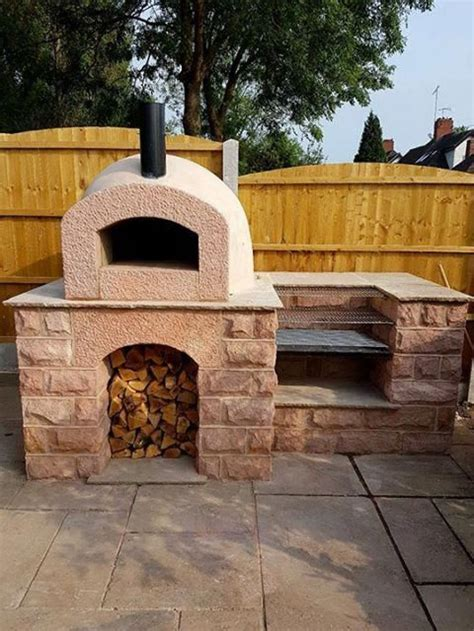 Diy Built In Bbq And Pizza Oven
