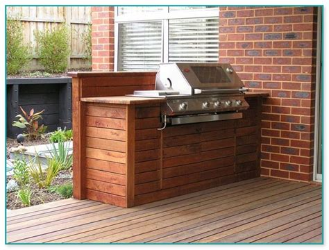Diy Built In Bbq On Deck