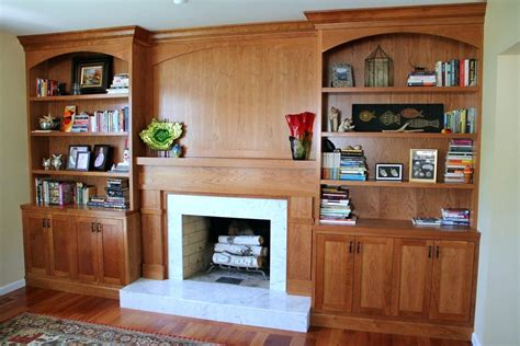 Diy Built In Bookcase Fireplace