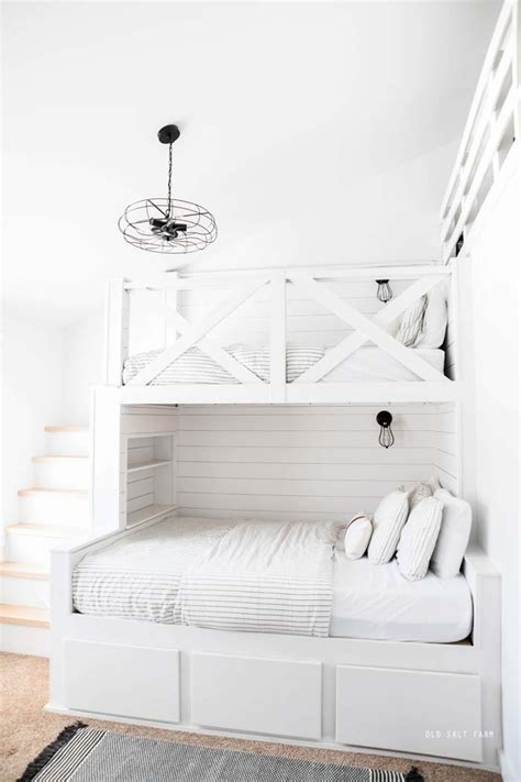 Diy Built In Bunk Beds