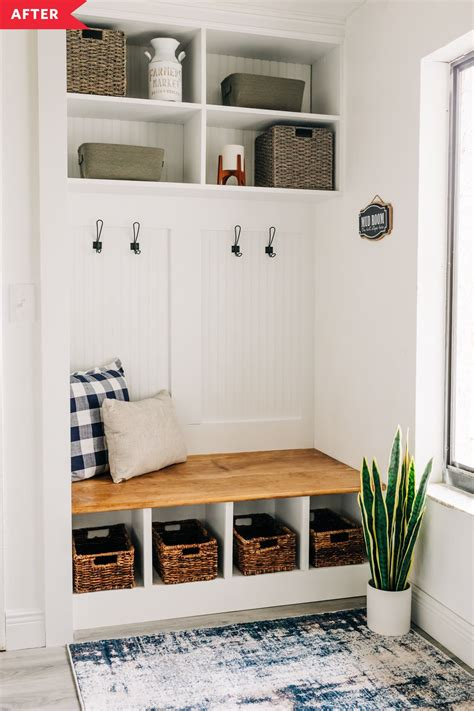 Diy Built In Cubby Bench