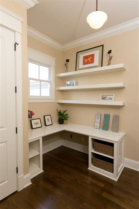 Diy Built In Desk Nook