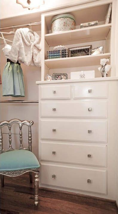 Diy Built In Dresser In Closet