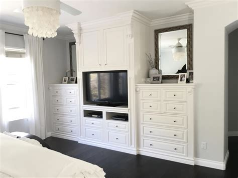 Diy Built In Dressers For Bedroom