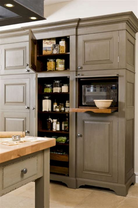 Diy Built In Microwave Cabinet