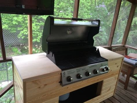 Diy Built In Propane Grill