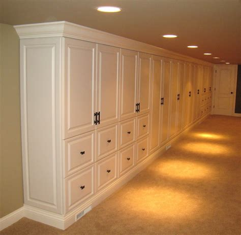 Diy Built In Storage For Basement Living Room