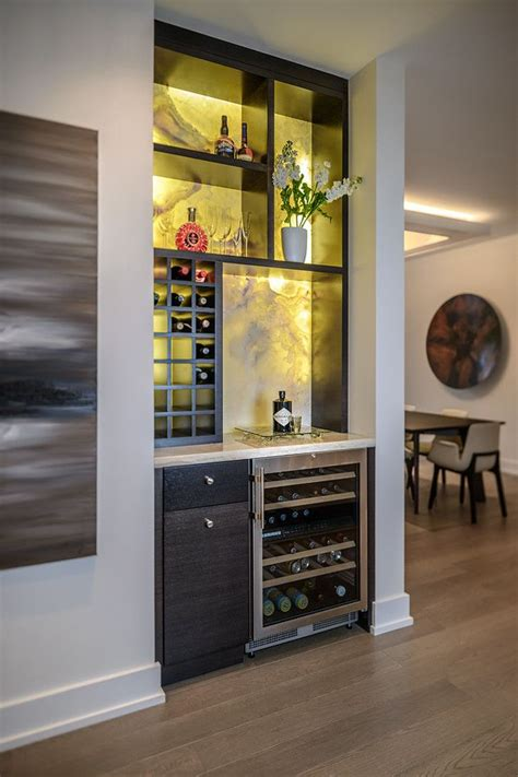 Diy Built In Wine Bar