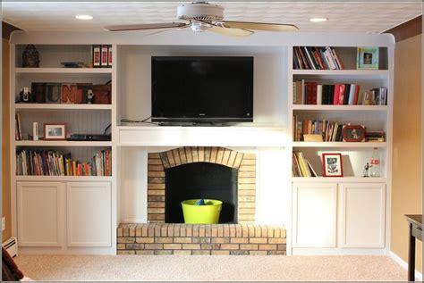 Diy Built Ins Around Fireplace