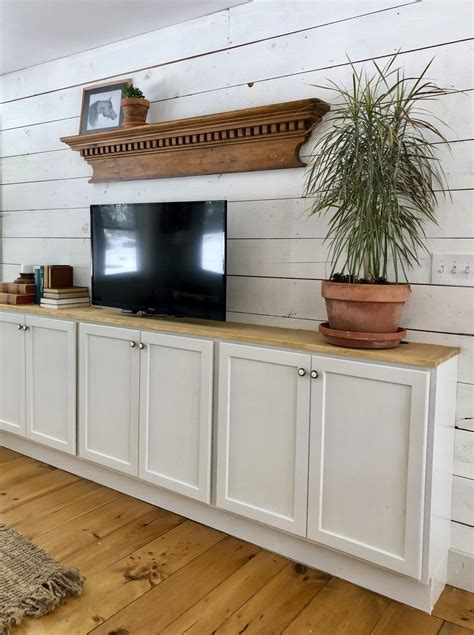 Diy Built Ins Using Stock Cabinets