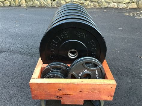 Diy Bumper Plate Storage On Wheels