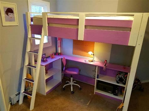 Diy Bunk Bed Ana White Bench