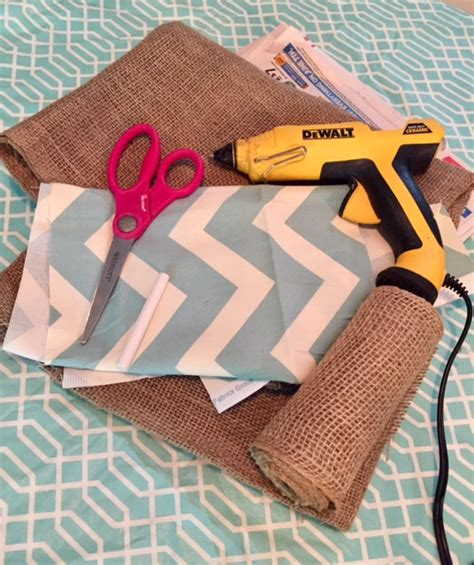 Diy Burlap Cross Door Hangers