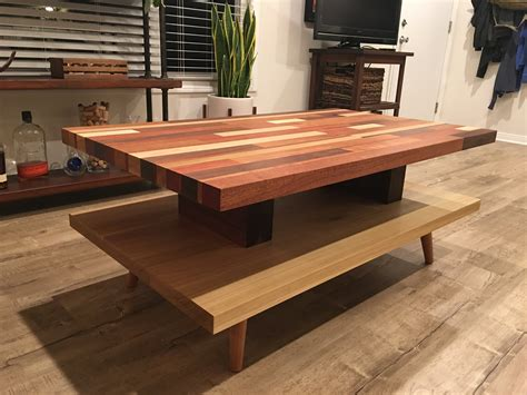 Diy Butcher Block Bench