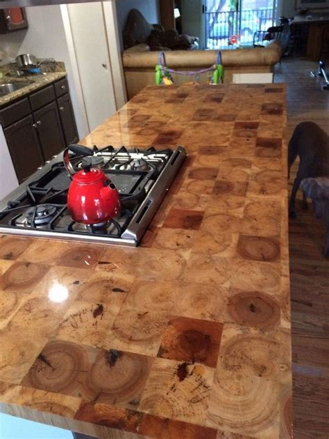 Diy Butcher Block Countertops End Grain