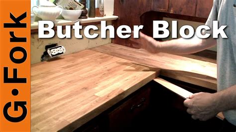 Diy Butcher Block Countertops Installation