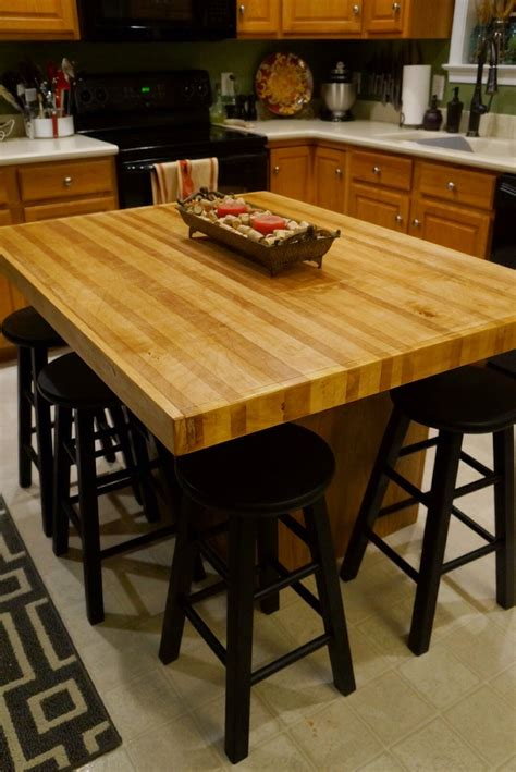 Diy Butcher Block Island Countertops