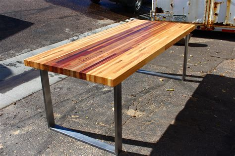 Diy Butcher Block Style Table Top