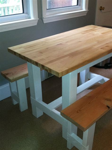 Diy Butcher Block Table Plans