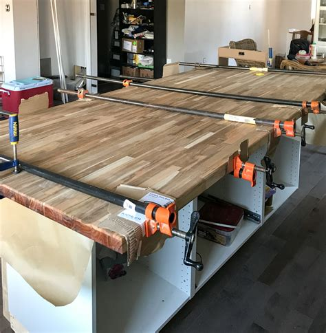 Diy Butcher Block Top For Island