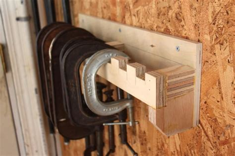 Diy C Clamp Rack