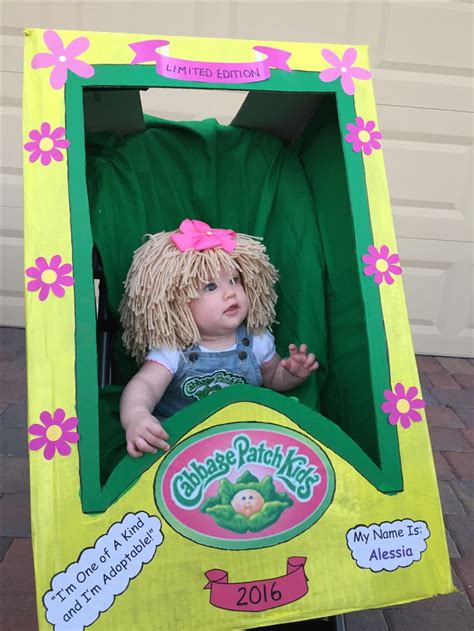 Diy Cabbage Patch Doll Costume