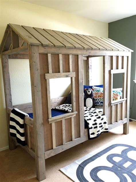 Diy Cabin Beds For Kids