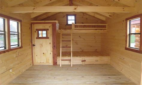 Diy Cabin Plans With Loft