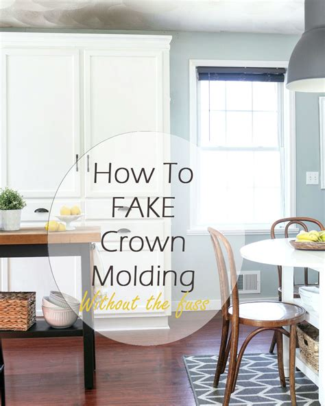 Diy Cabinet Crown Moulding