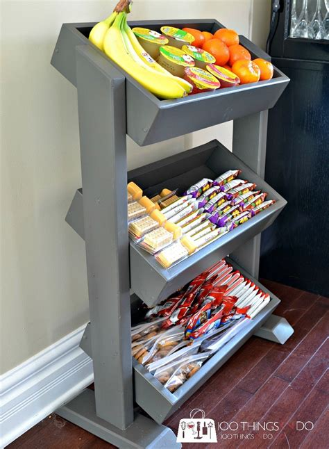 Diy Cabinet For Snacks