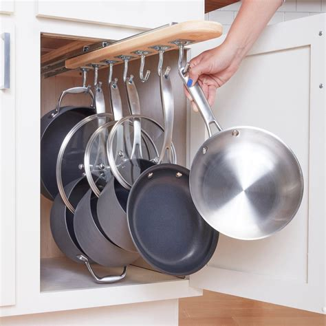 Diy Cabinet Pull Out Pan Storage Ideas