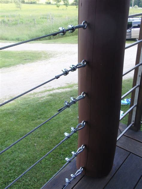 Diy Cable Railing Using Hardware