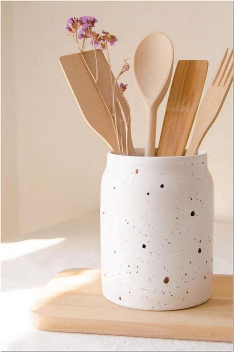 Diy Caddy For Utensils In The Kitchen