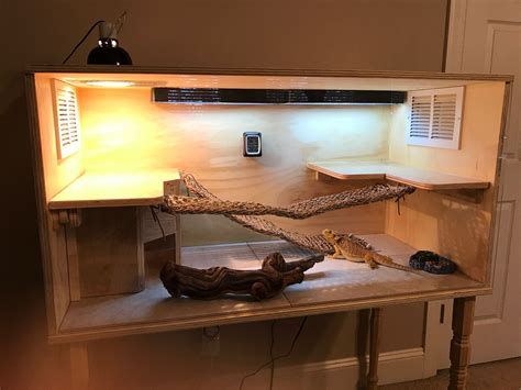 Diy Cage For Bearded Dragon