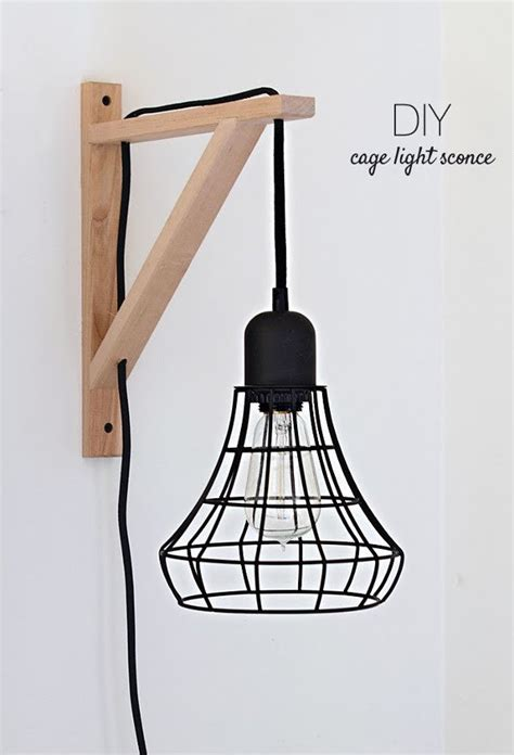 Diy Cage Light Sconce Ikea Hack