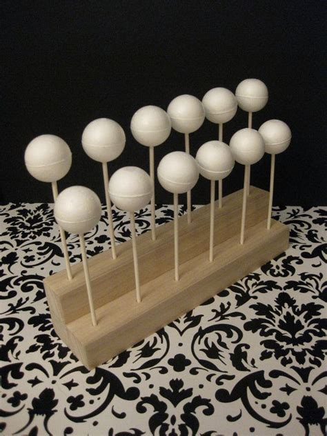 Diy Cake Pop Stand Wood